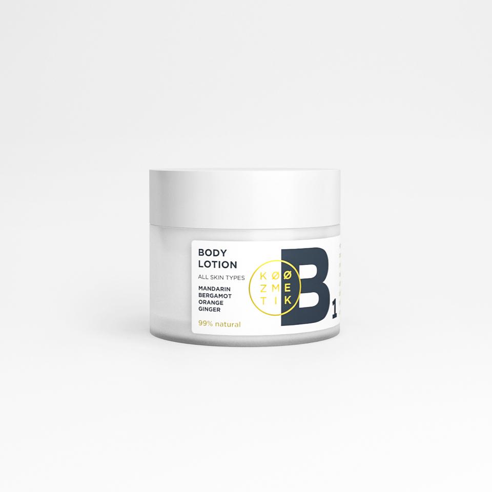 prirodno mleko za telo B1 koozmetik