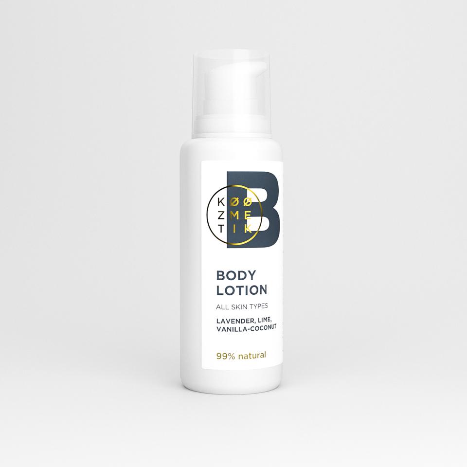 prirodno mleko za telo koozmetik