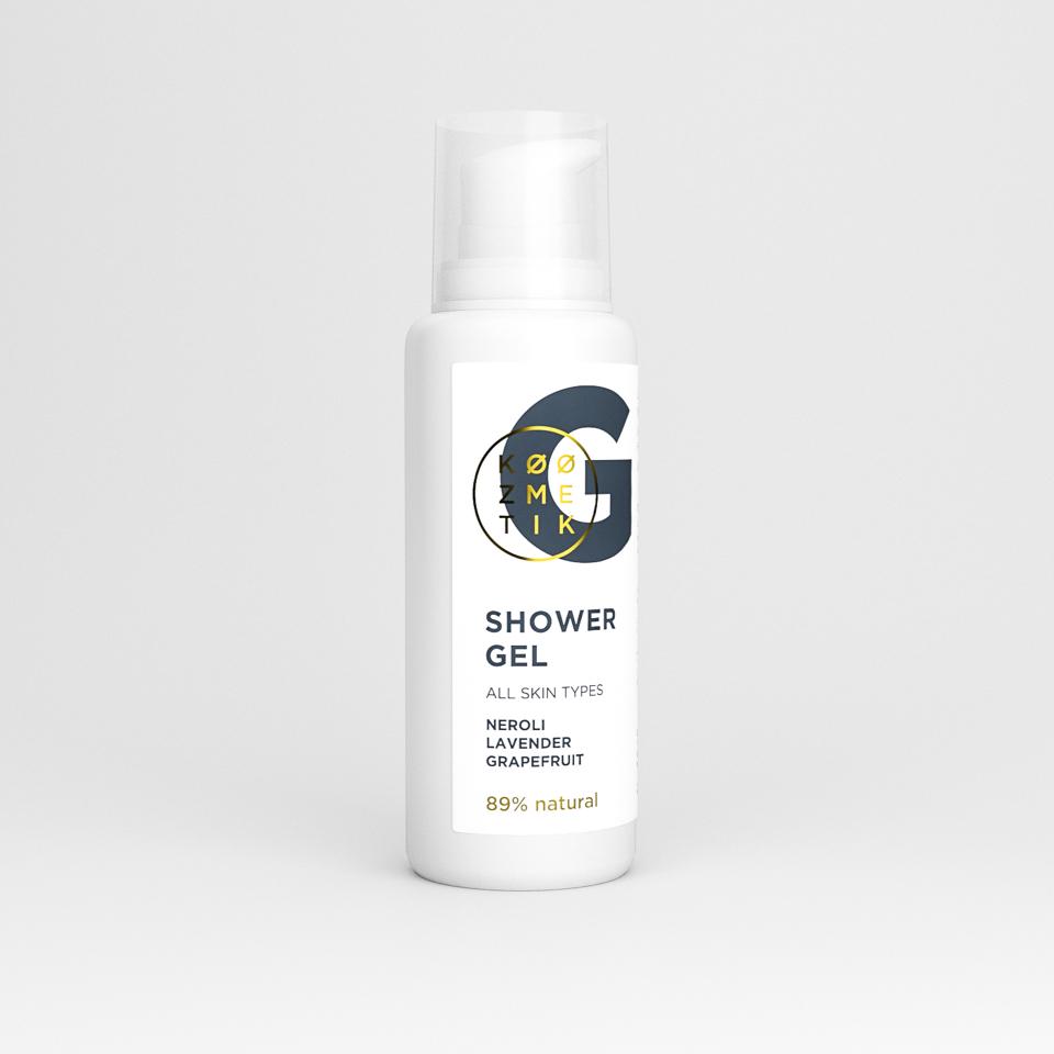 prirodni gel za tuširanje koozmetik