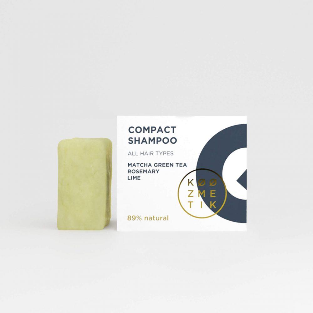 kompakt šampon koozmetik